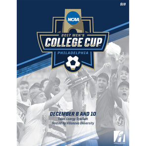 2017 NCAA Division I Soccer Men's College Cup Program