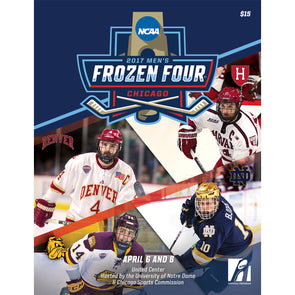 2017 NCAA Division I Men's Ice Hockey Frozen Four Program