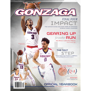2017-18 Gonzaga Men's and Women's Basketball Official Yearbook