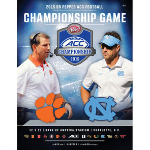 2015 Official ACC Football Championship Program