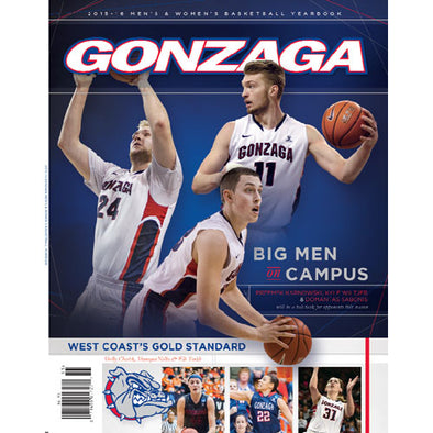 2015-16 Official Gonzaga Basketball Yearbook