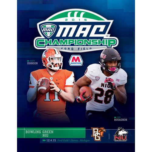 2015 Official MAC Football Championship Program