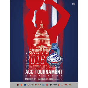 2016 ACC Men's Basketball Tournament Official Program