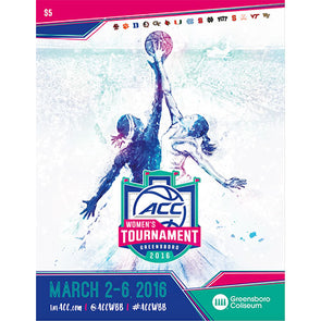 2016 ACC Women's Basketball Tournament Official Program