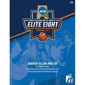 2016 NCAA Division II Men's Basketball Elite Eight Program
