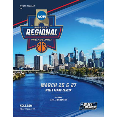 2016 NCAA Division I Men's Basketball Program: East Regional, Philadelphia