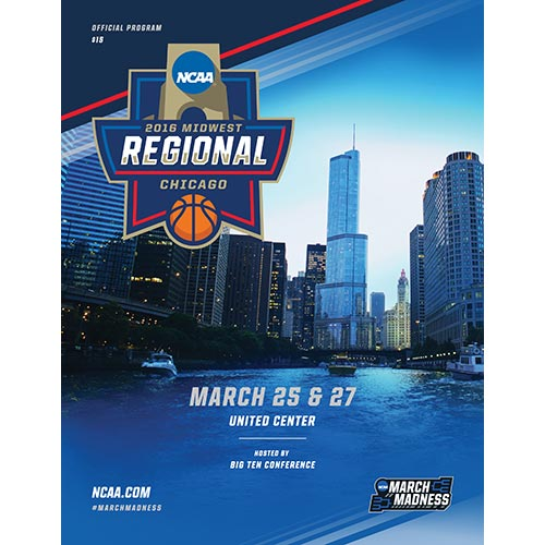2016 NCAA Division I Men's Basketball Program: Midwest Regional, Chicago