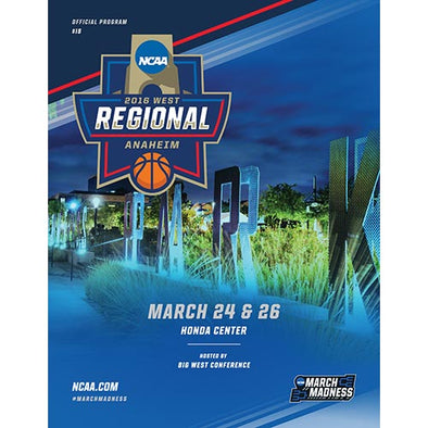 2016 NCAA Division I Men's Basketball Program: West Regional, Anaheim