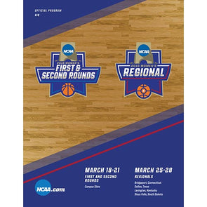 2016 NCAA Division I Women's Basketball Tournament Program: First and Second Rounds and Regional Games