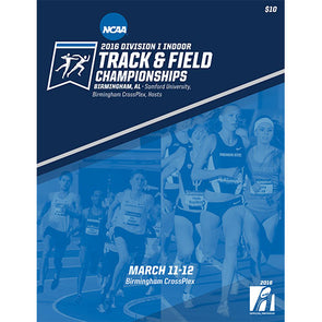 2016 NCAA Division I Indoor Track and Field Championship Program