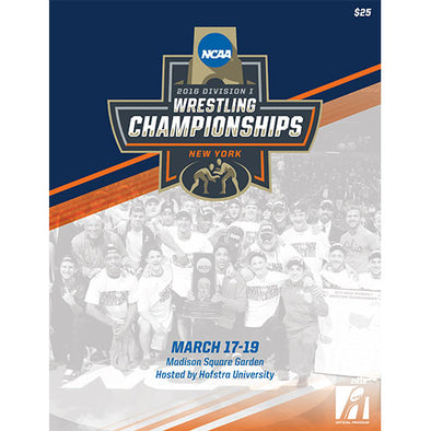 2016 NCAA Division I Wrestling Championship Official Program