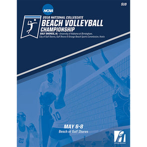 2016 NCAA Division I Women's Beach Volleyball Championship Program