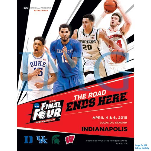 2015 NCAA Division I Men's Basketball Final Four Program