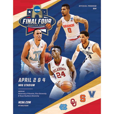 2016 NCAA Division I Men's Basketball Final Four Program