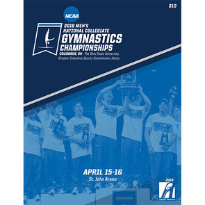 2016 NCAA Men's National Collegiate Gymnastics Championship Program