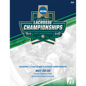 2016 NCAA Divisions I, II, and III Men's Lacrosse Championship Program