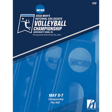 2016 NCAA Men's National Collegiate Volleyball Championship Program