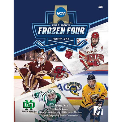 2016 NCAA Division I Men's Ice Hockey Frozen Four Program