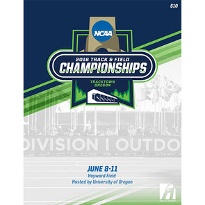 2016 NCAA Division I Outdoor Track and Field Championship Program
