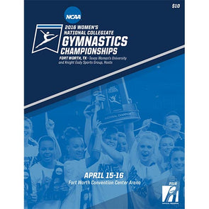 2016 NCAA National Collegiate Women's Gymnastics Championship Program