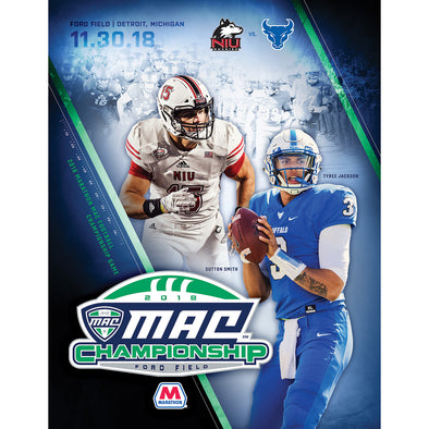 2018 MAC Football Championship Game Program