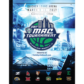 2017 MAC Basketball Championship Program