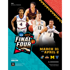 2018 NCAA Division I Men's Basketball Final Four Program