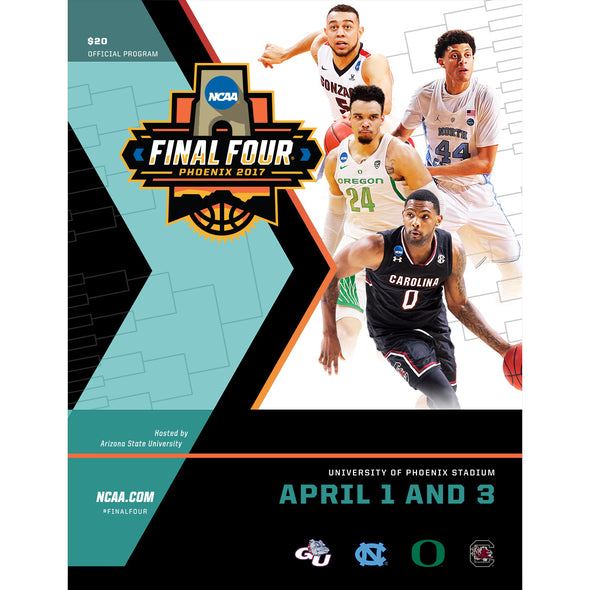 2017 NCAA Division I Men's Basketball Final Four Program