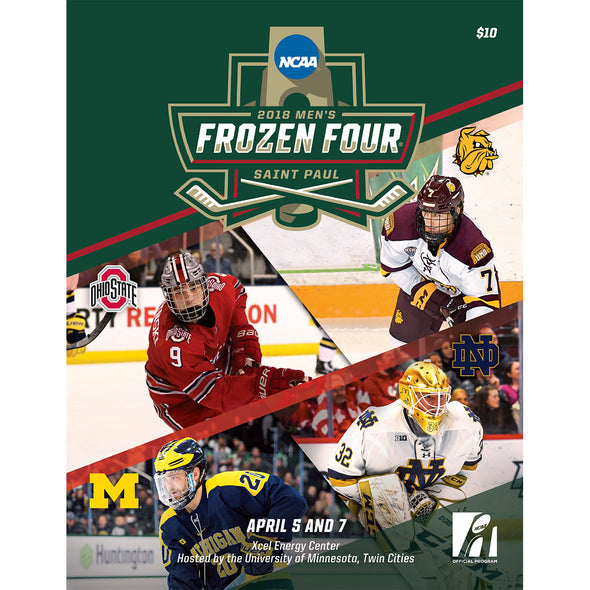 2018 NCAA Division I Men's Ice Hockey Frozen Four Program