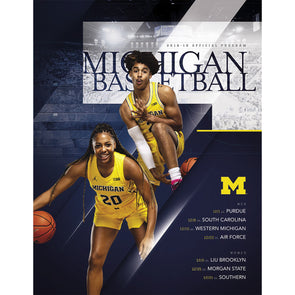 2018-19 Michigan Basketball Program December 22
