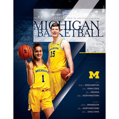 2018-19 Michigan Basketball Program January 20