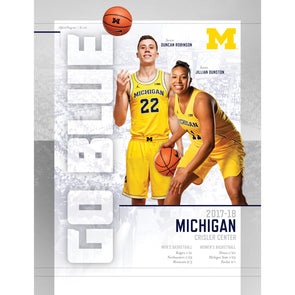 2017-18 Michigan Basketball Gameday Program: January 20-February 3 Games