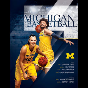 2018 Michigan Basketball Program November 19