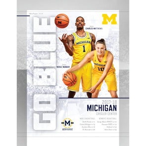 2017-18 Michigan Basketball Gameday Program: November 10-29 Games