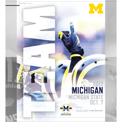 2017 Michigan Football Program vs. Michigan State