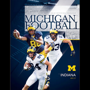 2018 Michigan Football Program vs. Indiana
