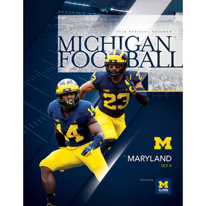 2018 Michigan Football Program vs. Maryland