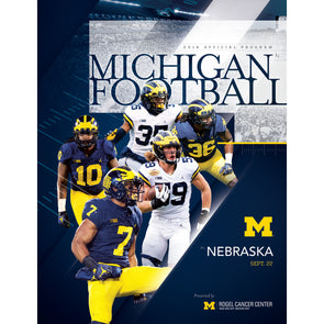 2018 Michigan Football Program vs. Nebraska