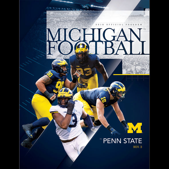 2018 Michigan Football Program vs. Penn State