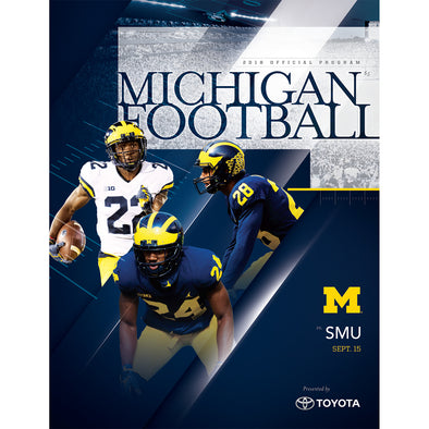2018 Michigan Football Program vs. SMU