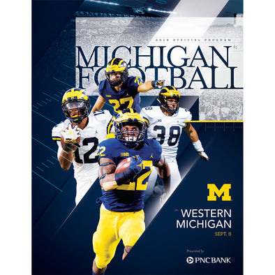 2018 Michigan Football Program vs. Western Michigan