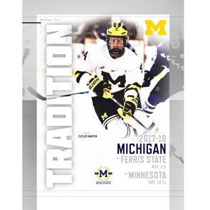 2017-18 Michigan Hockey Program vs. Ferris State and Minnesota