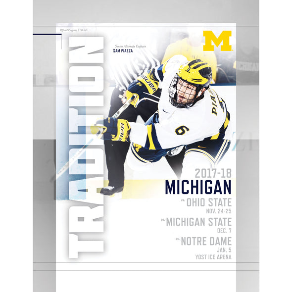 2017-18 Michigan Hockey Program vs. Ohio State, Michigan State and Notre Dame