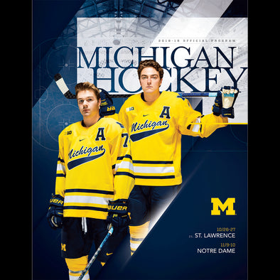2018 Michigan Hockey Program November 10