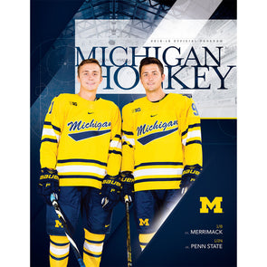 2018-19 Michigan Hockey Program January 24