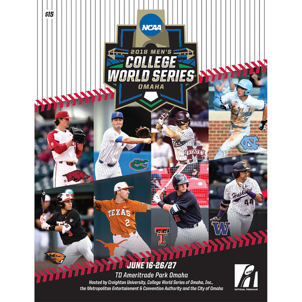 2018 NCAA Men's College Baseball World Series Program