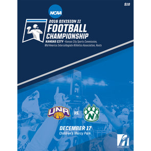 2016 NCAA Division II Football Championship Program