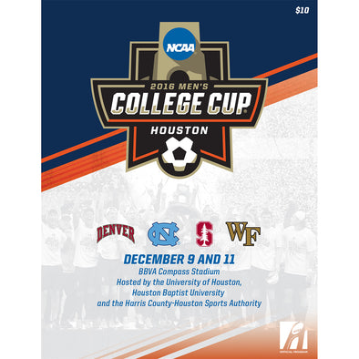 2016 NCAA Division I Men's Soccer College Cup Program