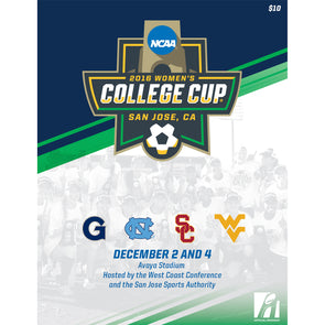2016 NCAA Division I Women's Soccer College Cup Program