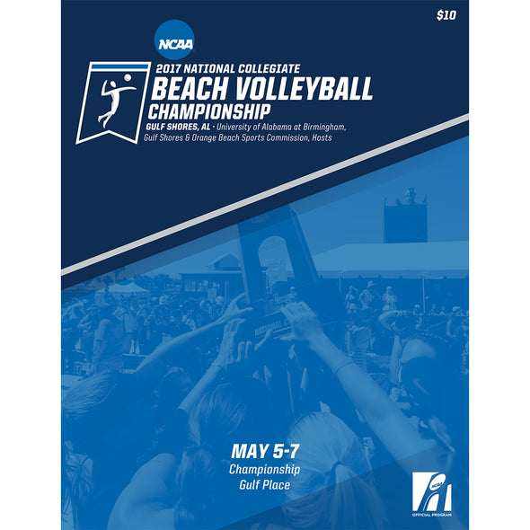 2017 NCAA National Collegiate Beach Volleyball Championship Program